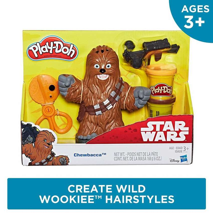 Play Doh Chewbacca Star Wars Original 0