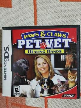 Nintendo Ds Pet Vet Healing Hands