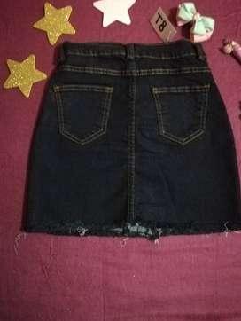Faldas jeans hermosas