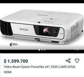 Video beam Epson power lite s41+