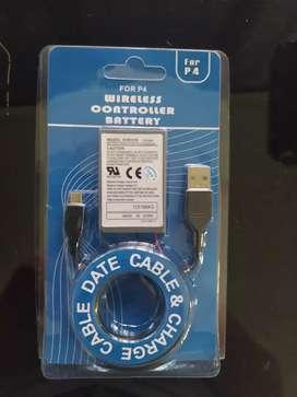Kit de batería más cable play 4