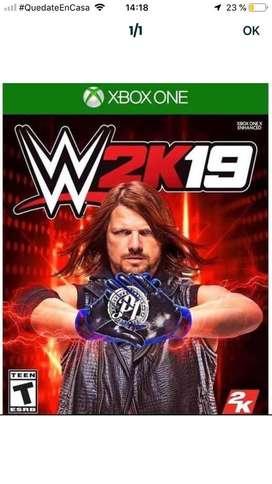 Juego Xbox-one W2k19
