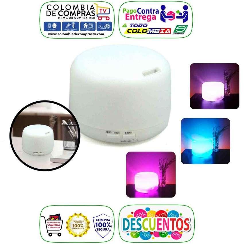 Difusor Aroma Grande 300 ml Humidificador Aromatizante Colores, Nuevos, Originales, Garantizados 0