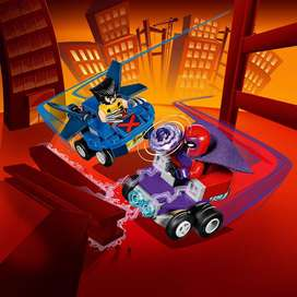 Mighty Micro Wolverine Magneto Figura Lego Héroe Bloque Auto