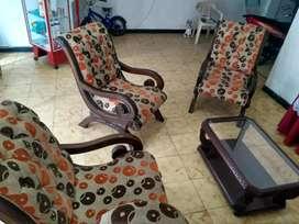 Muebles 3 puestos y sofa