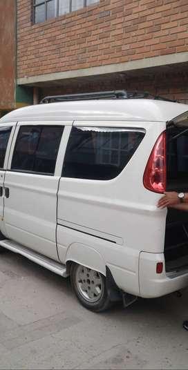 Se vende hafei modelo 2012 de 7 pasajeros