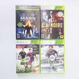4 Juegos De Xbox 360 Originales Usados Excelente Estado