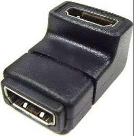 Union HDMI Codo Hembra Hembra / Codo HDMI H?H
