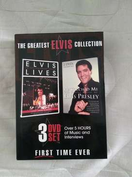 3 Dvds Elvis Presley