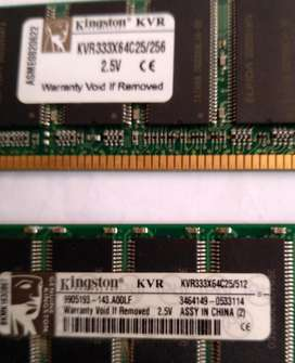 Memoria Ram Kingston Ddr1/ de 256 mb Pc (mar Del Plata)