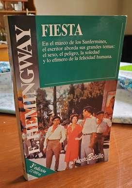"""Libro """"Fiesta"""""""