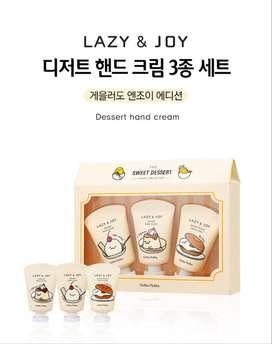 Corea - Set de cremas para manos: Edición Gudetama