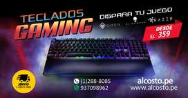 TECLADOS GAMERS