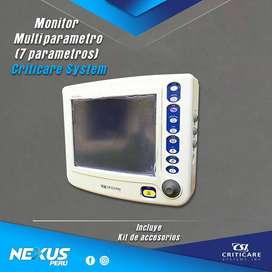 Monitor Multiparametros Criticare System Inc.