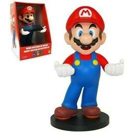 Figura Coleccionable Mario Pedestal