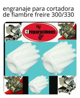 Engranaje para cortadora de fiambre freire 300/330