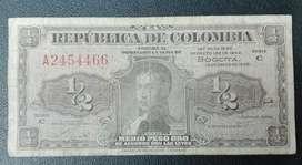 Lleritas. 1/2 peso.