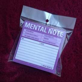 Mental Note Post It (Entrego en Santa Tecla)