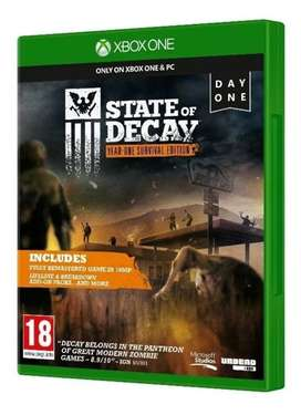Videojuego State Of Decay Year One Survival Edition Xbox One