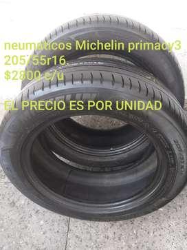 Neumaticos Michelin primacy3 205/55r16