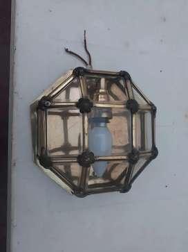 Antigua Luminaria de bronce