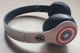 Auriculares Inalámbricos Avengers Capitan América  Audífonos diadema Bluetooth