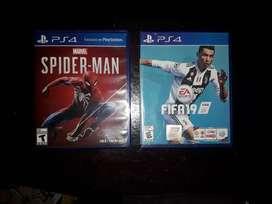 juegos PS4 casi sin uso