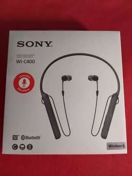 SONY AUDIFONOS BLUETOOTH  WI - C400 CON MICROFONO INTEGRADO DURACION DE 20 HRS.