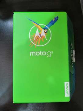 Vendo Hermoso Moto G5