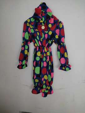 Disfraz de payasito para niño de 5 a 6 años