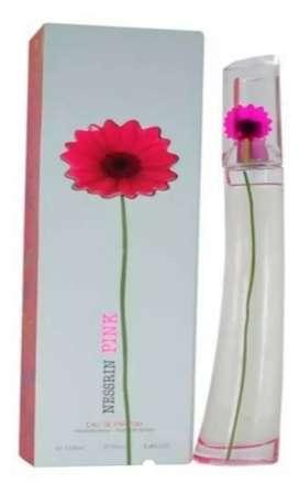 Perfume para mujer Nessrin Flower Pink - Original
