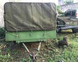 Trailer Militar Tipo M101 De Colección Infanteria de Marina