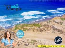 Tu inversión confiable!! Parcelas Para Venta Frente Al Mar - Manta   SD2