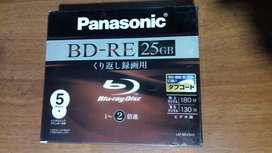 Discos Blu-ray Regrabables