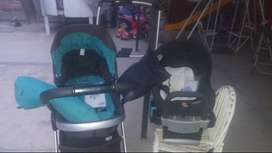 Vendo coche chicco urban plus