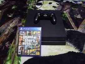 Consola PS4, incluido gta v
