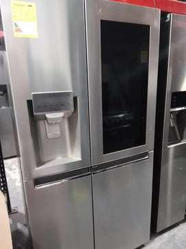 Remate nevecom dos puertas tok tok con Door in Door marca LG de exhibición de
