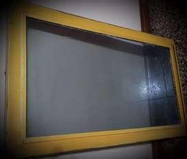Ventana vertical corrediza  0,47 x 0,85 con vidrio