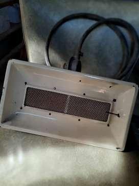 Vendo pantalla de calor a gas