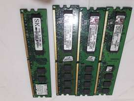 Pack De Memorias Kingston & Sk Ddr2 4gb (4 X 1gb)