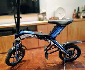 bicicleta moto electrica plegable