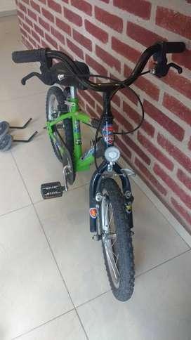 Bicicleta Tomaselli Rodado 14    Ideal 2 a 5 años