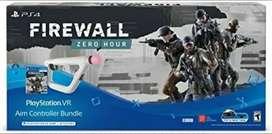 NUEVO Ps vr Sony PlayStation  firewall pistola control y juego NUEVO