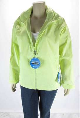 Campera Lluvia Columbia Access Point Mujer Impermeable