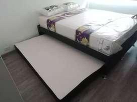 Base Nido con el colchón auxiliar incluido envio gratis