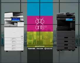 Venta de Fotocopiadoras Laser - Nuevas y Usadas - Color y Blanco/Negro