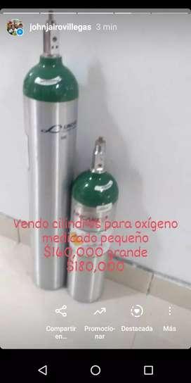 Vendo cilindros para oxígeno medicado y reguladores