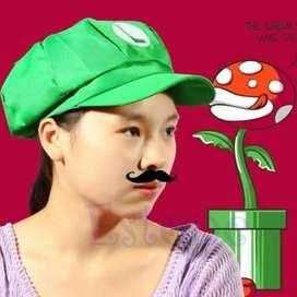 Gorro Luigi Gamers Videojuego Nintendo Mario Bros Cosplay