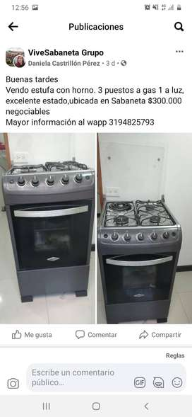 Venta estufa