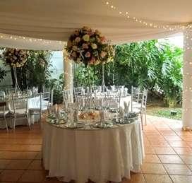 centros de mesa y decoraciones para bodas